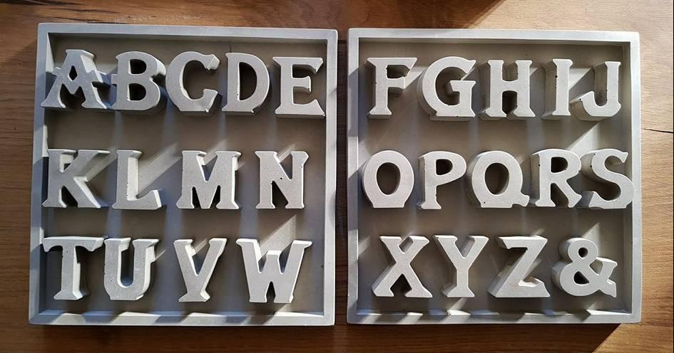 Wow Buchstaben Alphabet