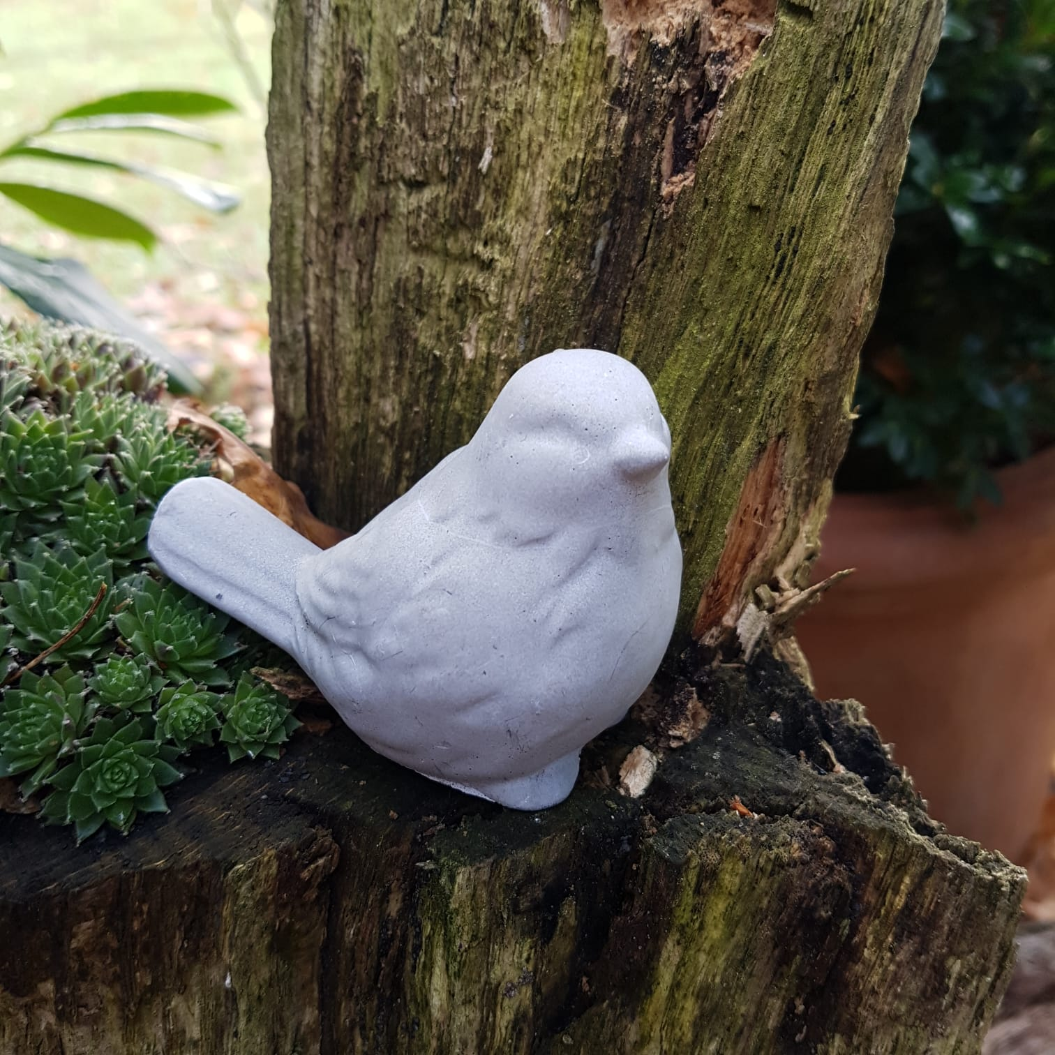 Giessform Keramik A-11  2 Vögel 4-5 cm